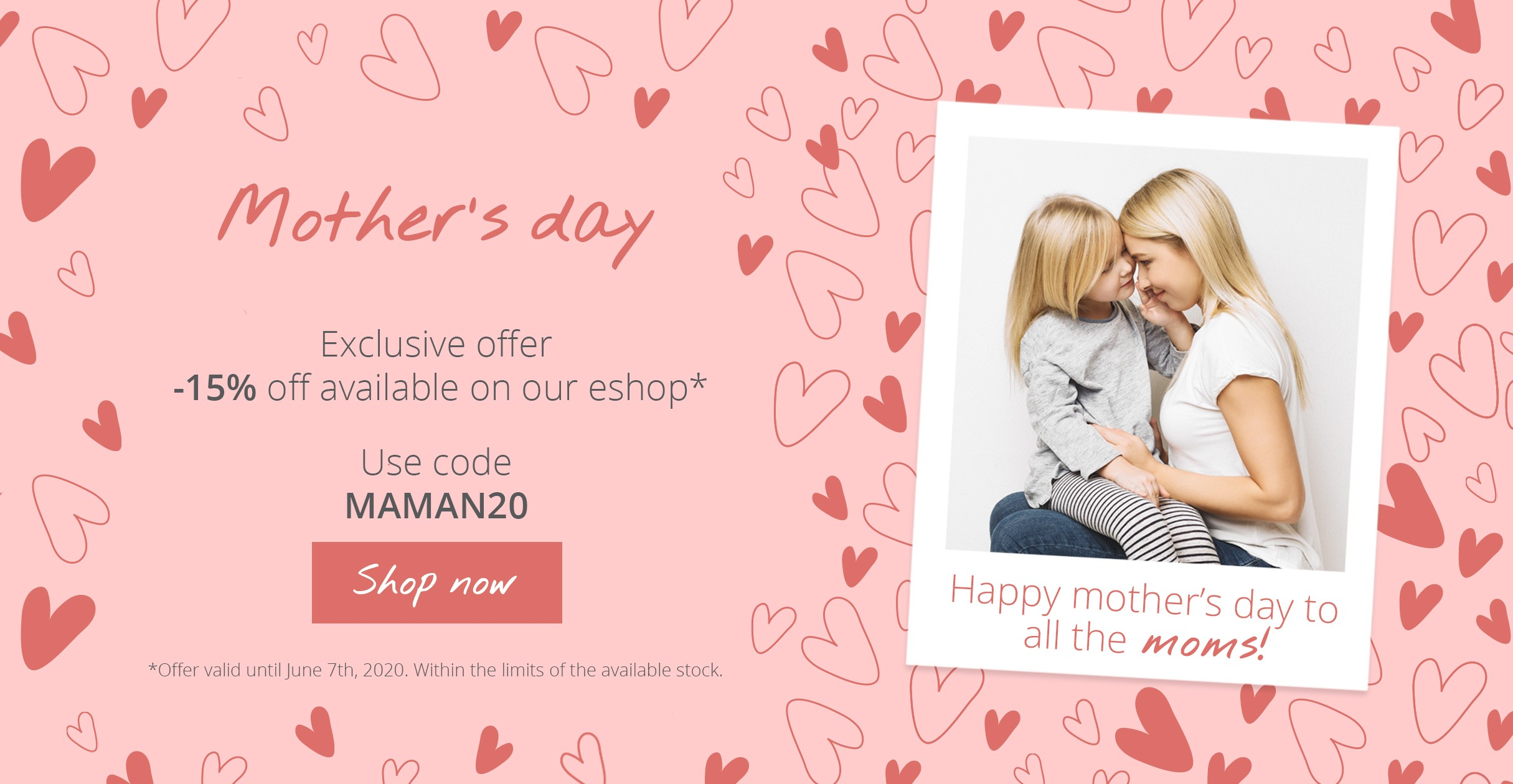 Discount - Mother's day